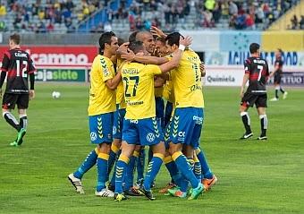 udlp vs sabadell marca celebracion gol