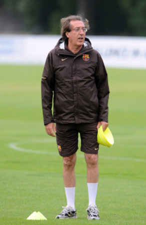 Paco Seirul-lo, Barcelona's fitness coach